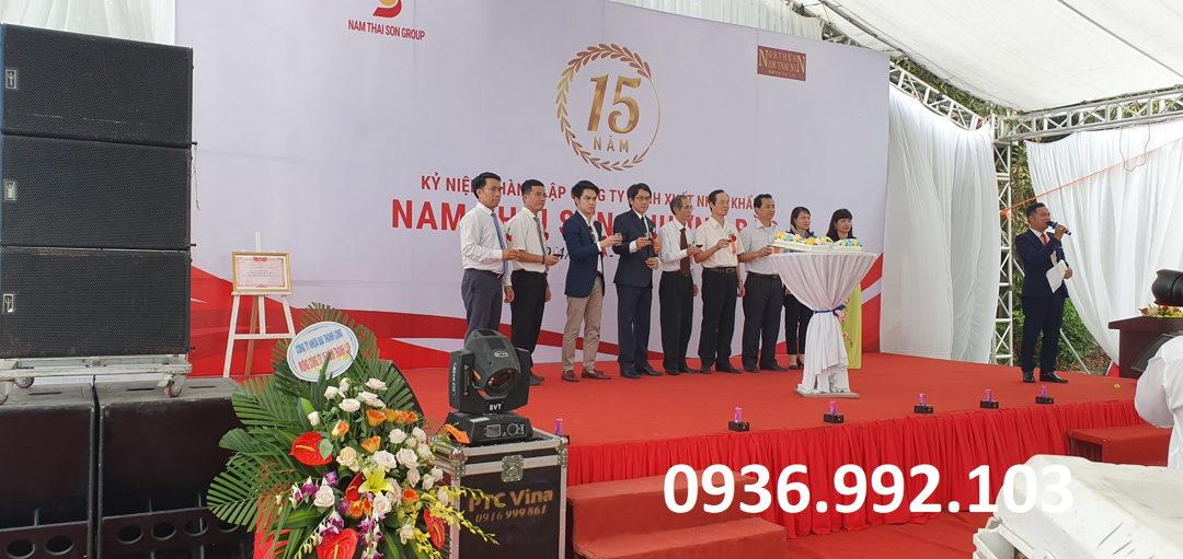 Lễ kỷ niệm ngày thành lập tri ân chặng đường phát triển của công ty, doanh nghiệp